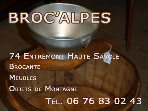 Objets Et Meubles Du0027art Populaire Typés Montagne Et Alpage Antiquité  Savoyarde ...